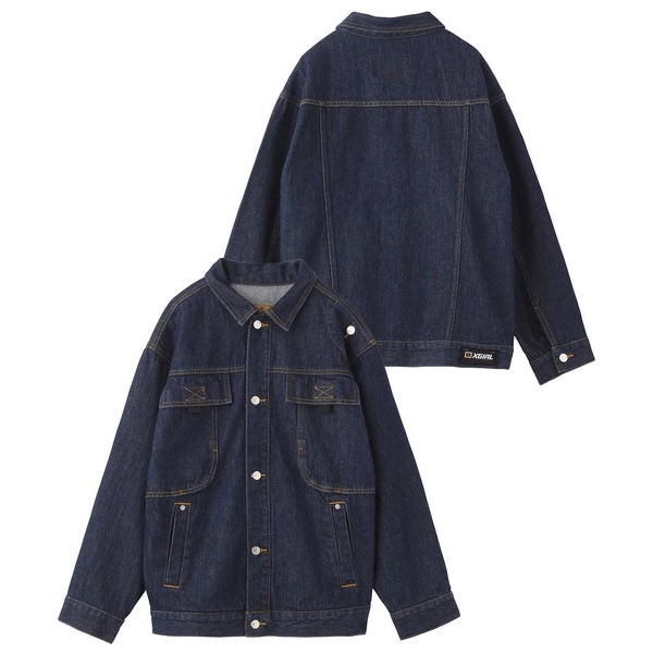 Wide Jacket with Big Pockets