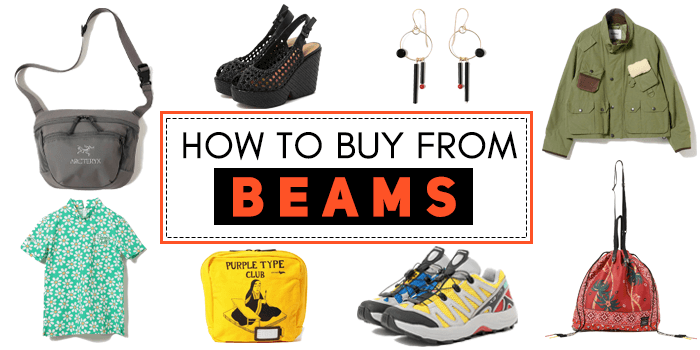 How to buy from BEAMS Japan