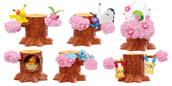 Pokemon Forest 4 Set Petal Dance