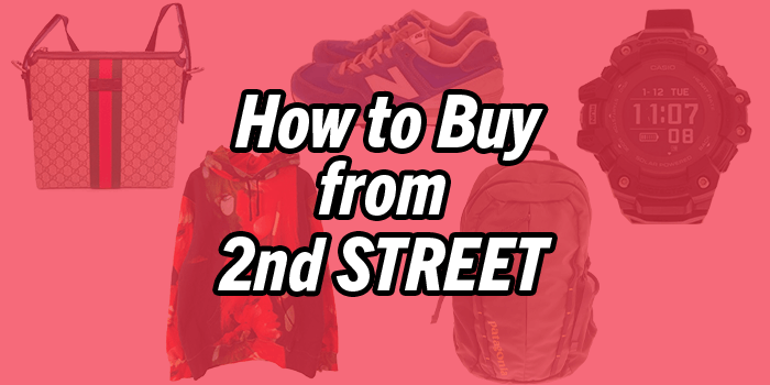 How to buy from 2nd Street Online – Japan's best thrift shop!