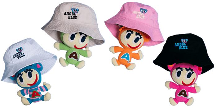 Angel Blue Bucket Hats