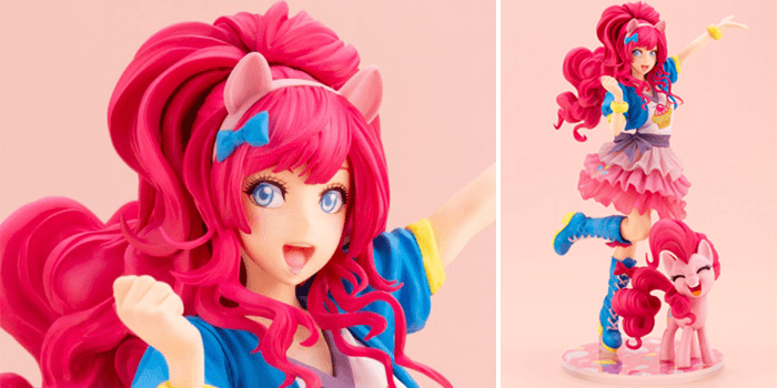 My Little Pony Kotobukiya Bishoujo Figures - Pinkie Pie