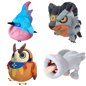 Monster Hunter Rise Plushie Collection