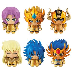 Saint Seiya Gold Saints ColleChara Mini Figures