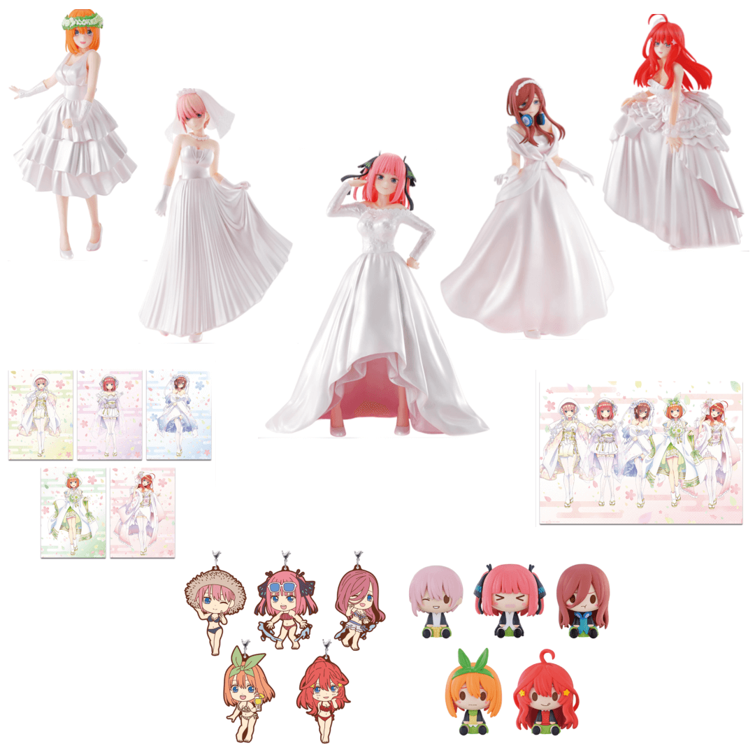 The Quintessential Quintuplets Ichiban Kuji – Bridal Edition