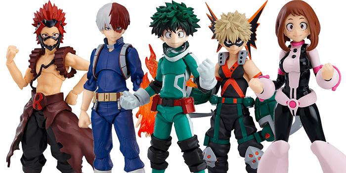 My Hero Academia figma Figures