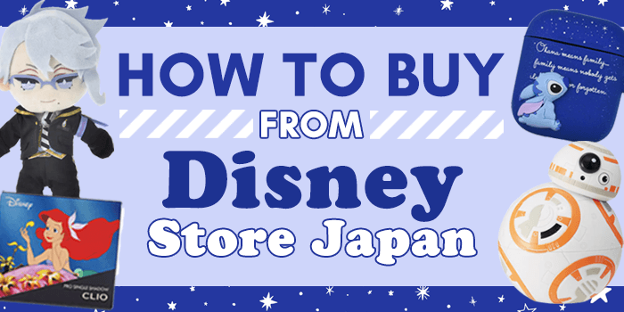 How to buy from Disney Store Japan