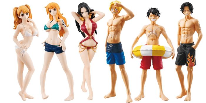 One Piece Gasha Portraits figures