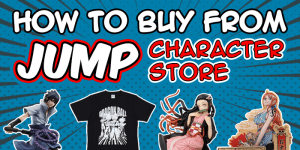 Jump Character Store Shopping Guide: How to buy from Jump Character Store