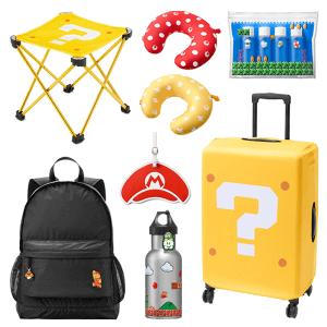 Super Mario Travel Items