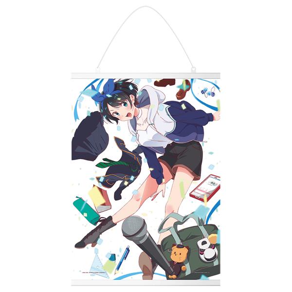 Rent A Girlfriend Ruka Sarashina Canvas Tapestry - Ichiban Kuji Prize D