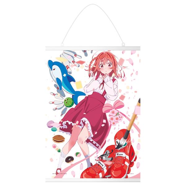 Rent A Girlfriend Sumi Sakurasawa Canvas Tapestry - Ichiban Kuji Prize E