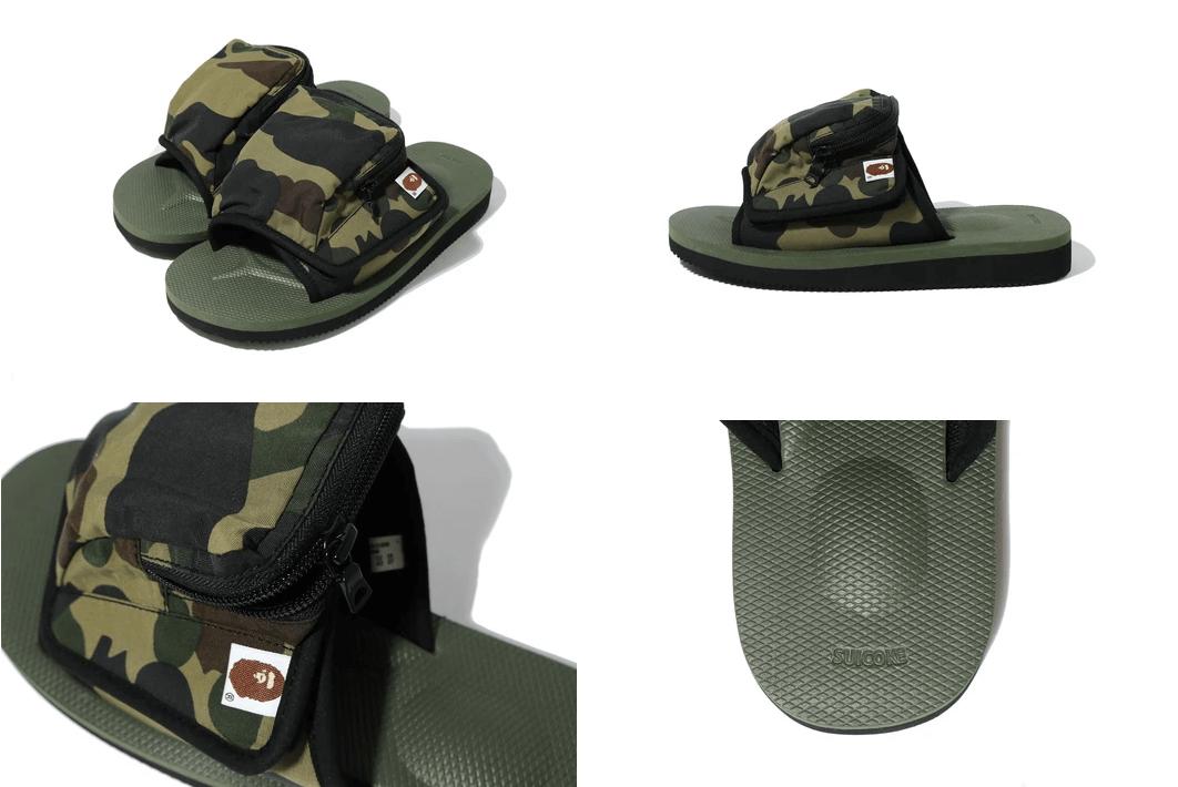 BAPE x Suicoke Sandals 2021
