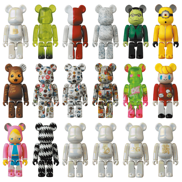 Bearbrick Series 42 & Bearbrick Series 42 Release Campaign Special Edition
