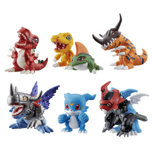 Digimon Adventure – The Digimon New Collection Vol.1 Figures