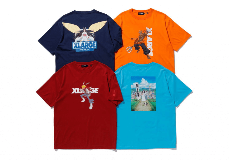 X-LARGE x Summer Wars Collection