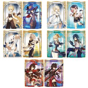 Genshin Impact Metal Card Collection