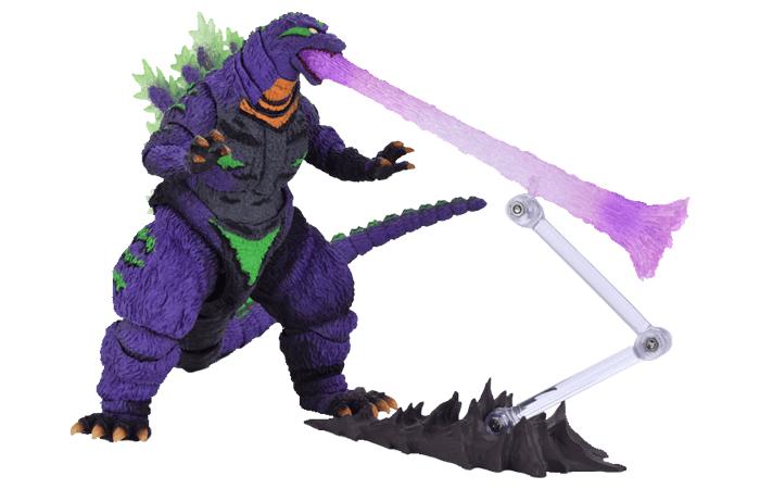 Godzilla feat.EVA-01 S.H. MonsterArts Figures