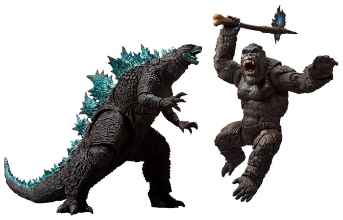Godzilla vs Kong 2021 S.H. MonsterArts Figures