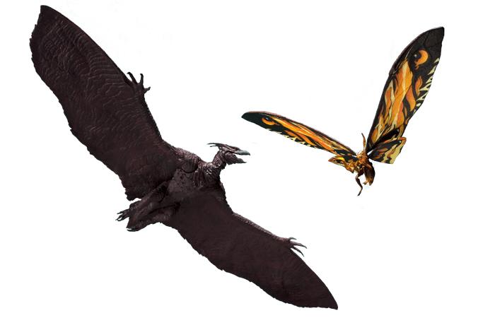 Mothra & Rodan (2019) MonsterArts Figures