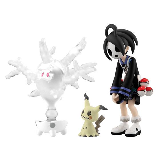 Pokemon Scale World Galar Region Allister & Cursola & Mimikyu