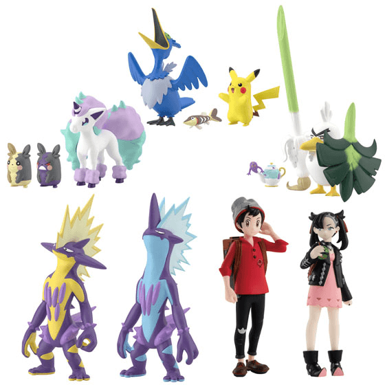 Pokemon Scale World Galar Region 02 Set