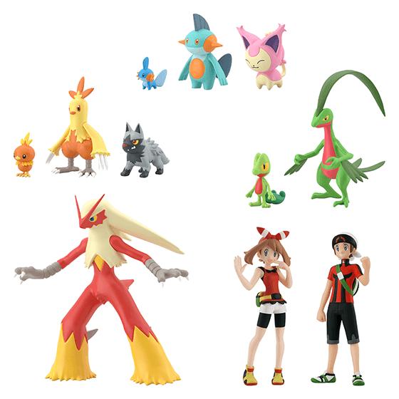 Pokemon Scale World Hoenn Region Set