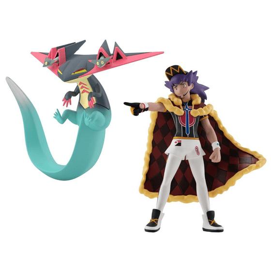 Pokemon Scale World Galar Region Leon & Dragapult