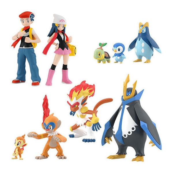 Pokemon Scale World Sinnoh Region