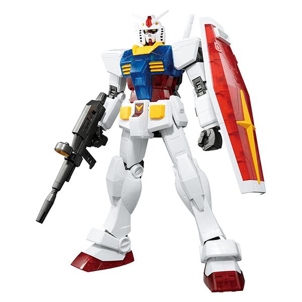 Mega Size Model 1/48 RX-78-2 Gundam Solid Clear Standard