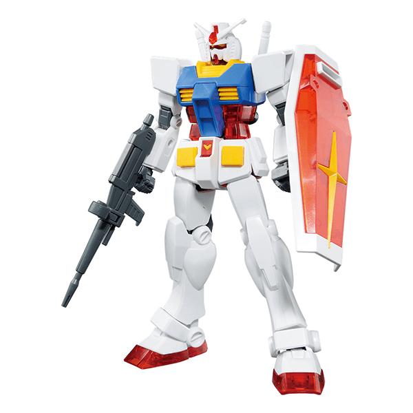 Entry Grade 1/144 RX-78-2 Gundam Solid Clear Reverse