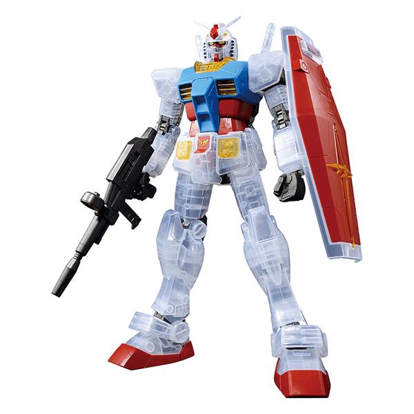 Mega Size Model 1/48 RX-78-2 Gundam Solid Clear Reverse