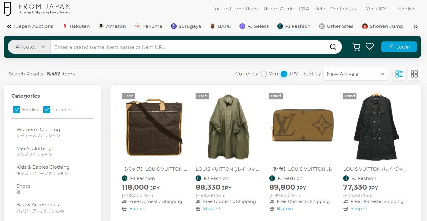 How to buy Louis Vuitton - FJ Fashion Page